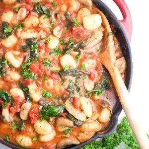 Easy Weeknight Veggie Gnocchi Recipe
