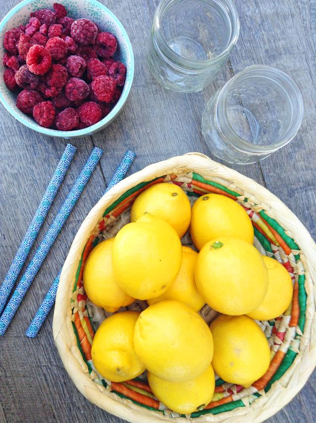 frozen raspberry lemonade ingredients