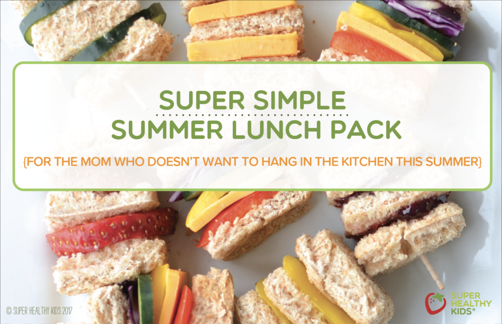 Super Simple Summer Lunch Recipe Pack!! (Download it ASAP!)