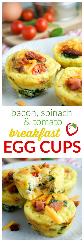 FOOD - Bacon and Veggie Breakfast Egg Cups | Super Healthy Kids