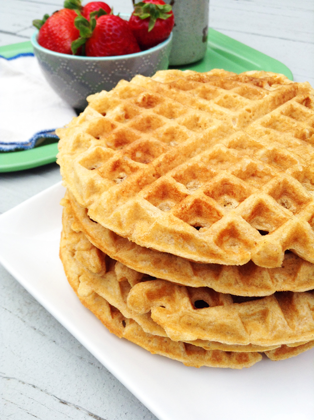 Best-Ever Whole Wheat Waffles