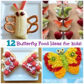 12 Healthy butterfly food ideas for kids