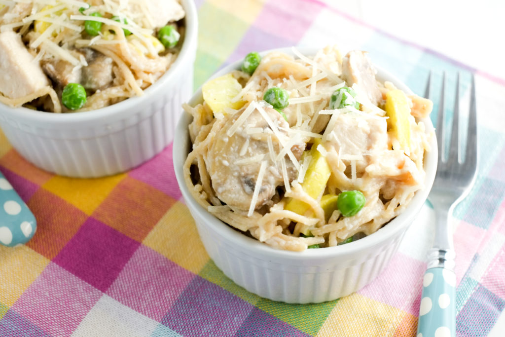 Chicken tetrazzini is a kid-pleasing classic!