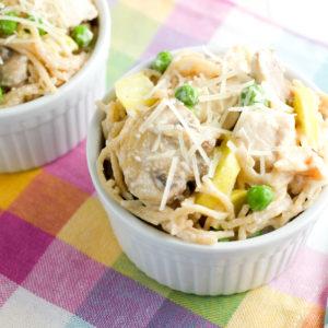 Veggie-Packed Chicken Tetrazzini Recipe