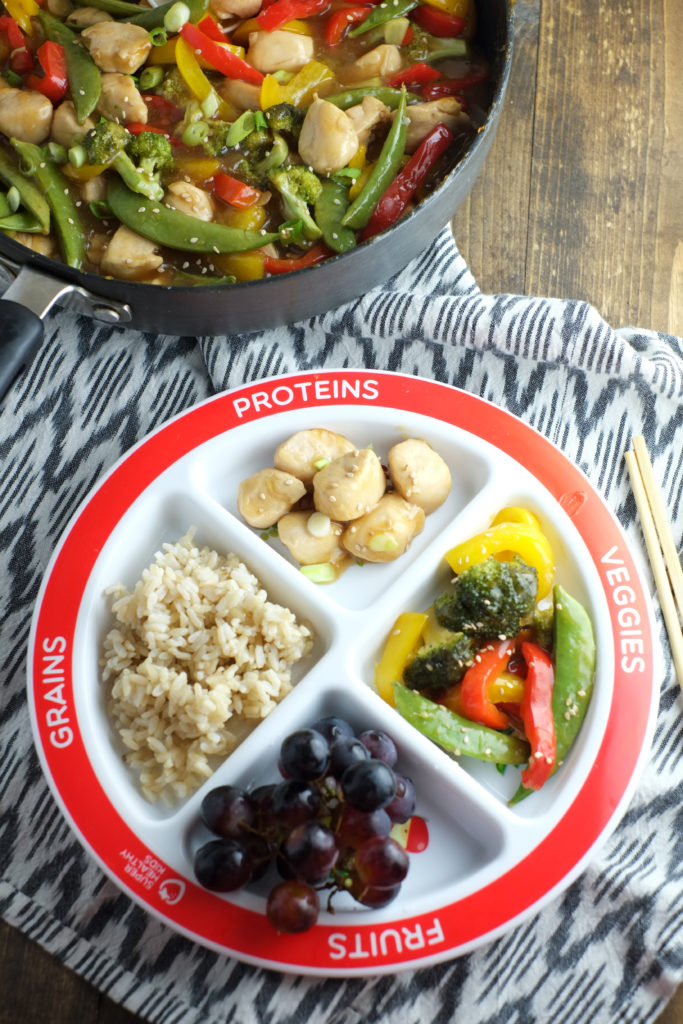 Kids love stir-fry! And it makes for quite a well-balanced meal.