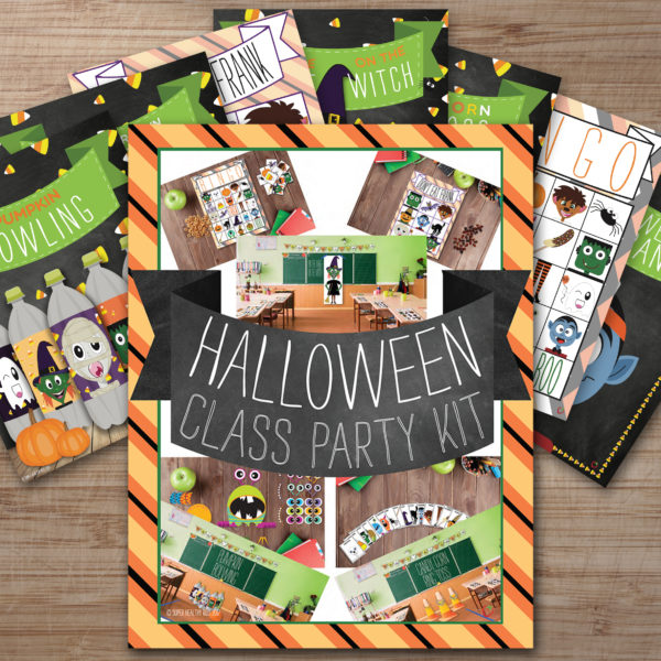 Halloween Class Party Kit 3