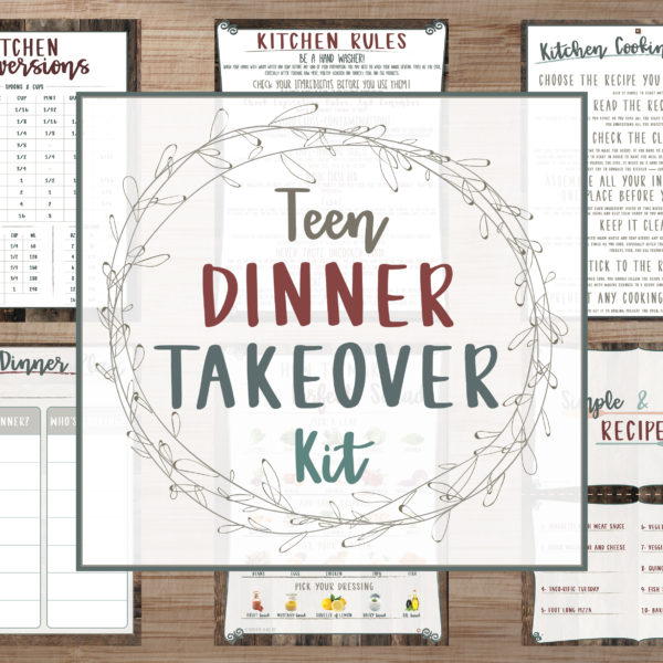 Teen Dinner Takeover Kit takeover