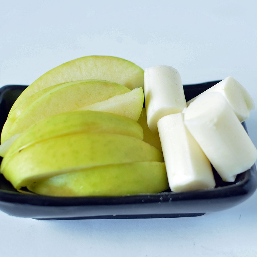 String Cheese and Apples