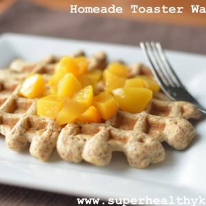 Flax Freezer Waffles – Homemade and Toaster Ready
