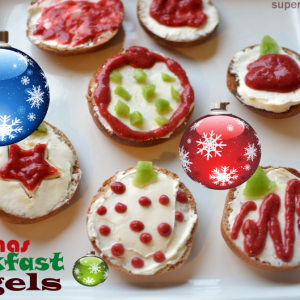 Christmas Breakfast Bagels