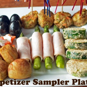 Appetizer Sample Platter with Turkey Power Balls!