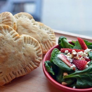 Spinach Calzones and the Produce Promise