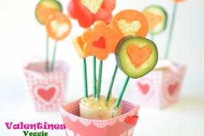 Valentines Cucumber Bouquet