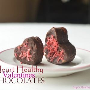 Heart Healthy Valentines Chocolates