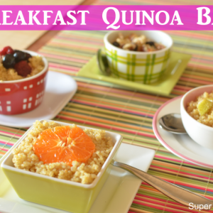 Breakfast Bar-Quinoa Style