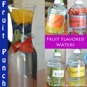 Flavored Water for Kids Plus Essential Benefits of Water!
