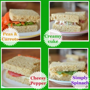Four New Veggie Sandwiches For Kids
