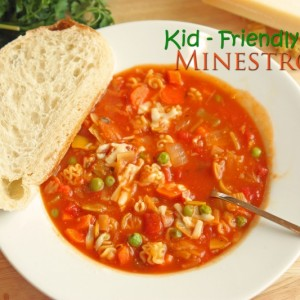 Kid-Friendly Minestrone and Cook Book Review