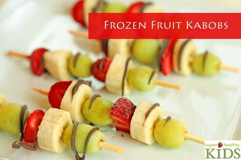 Frozen Fruit Kabobs | Healthy Ideas for Kids