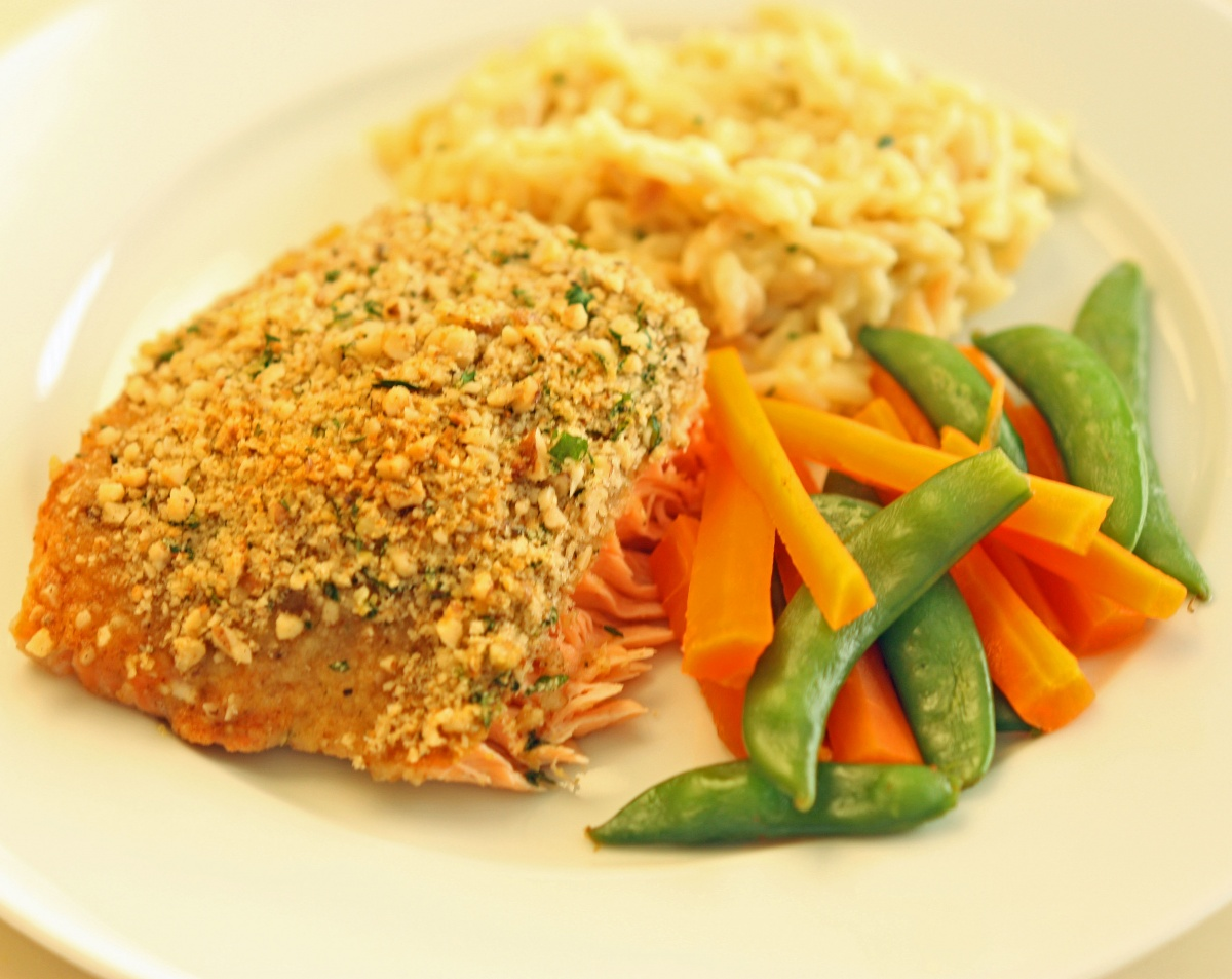 Baked Dijon Salmon | Super Healthy Kids