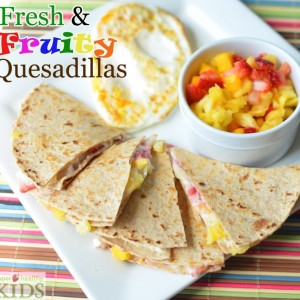Fresh and Fruity Breakfast Quesadillas Recipe