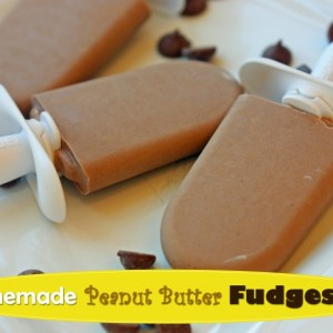 Homemade Peanut Butter Fudgesicle Recipe