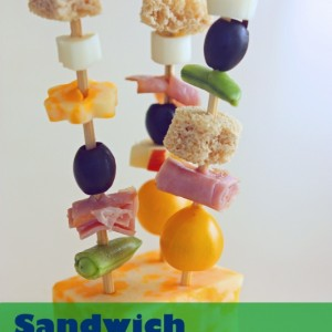Pack-able Sandwiches on a Stick