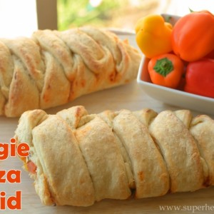 Veggie Pizza Braid Recipe {With Video!}