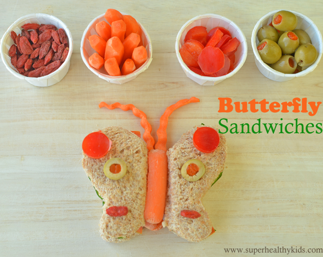 how to make a healthy sandwich for school