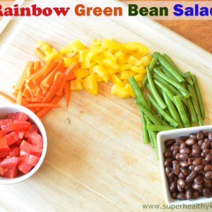 Rainbow Green Bean Salad Recipe