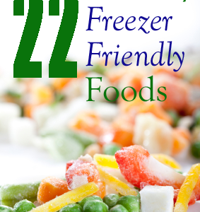 22 Healthy Freezer Friendly Foods