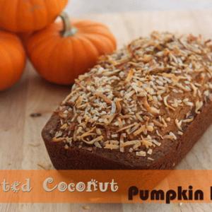 Toasted Coconut Pumpkin Bread Recipe