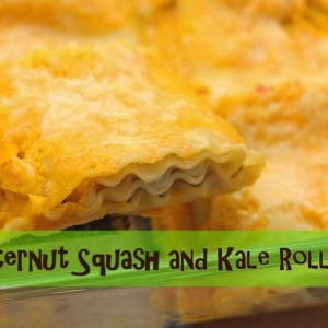 Butternut Squash and Kale Roll-ups Recipe