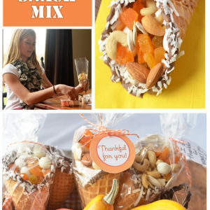 Thanksgiving Day Cornucopia Snack Mix
