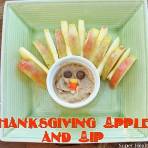 Thanksgiving Apples and Dip