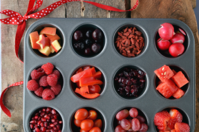 Healthy Red Snack Day - Kids Buffet