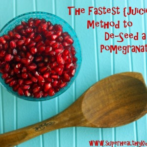 Fastest {Juicest} Method to De-seed a Pomegranate