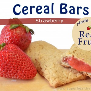 Homemade Strawberry Cereal Bars Recipe