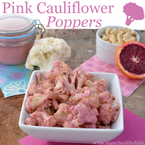 Pink Cauliflower Poppers Recipe