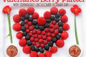Valentine's Berry Platter