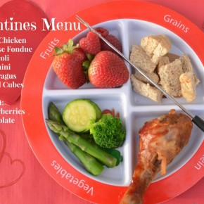 Valentine's Veggies- Special Dinner for Awesome Kids