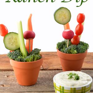 Garden Party Dairy-Free Ranch Dip