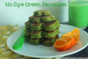 No-Dye Green Pancakes