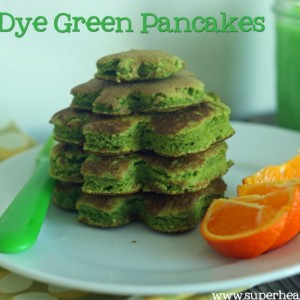 No-Dye Green Pancakes