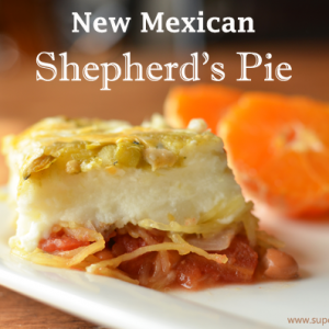 New Mexican Shepherd's Pie Recipe {Meatless Monday}