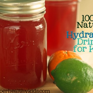 Natural Hydration Drink Recipe for Kids