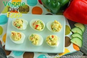 Veggie Deviled Eggs