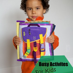 Busy Activities for Kids So You Can Cook Dinner