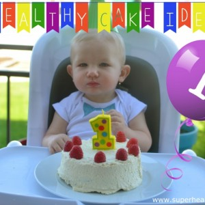 Baby's First Birthday Cake