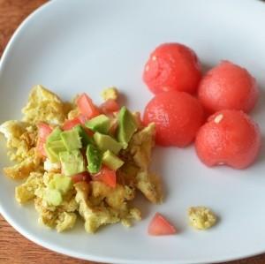 Egg White & Hummus | Healthy Ideas for Kids